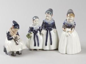 Figuriineja, 3 kpl, Tytöt