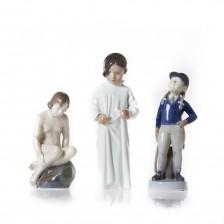 Figuriinejä, 3 kpl, Tyttöjä