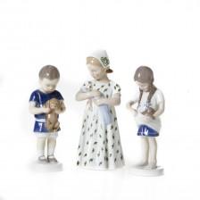 Figuriinejä, 3 kpl, Lapsiaiheita