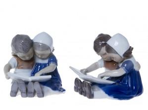 Figuriinipari, Lukevat lapset