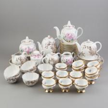 Kahvi- ja teeastiaston osia