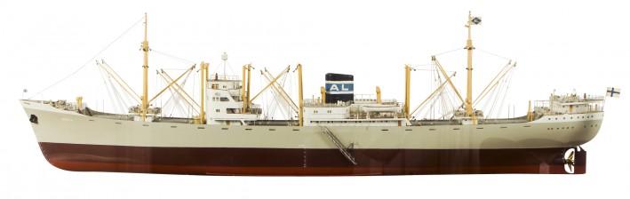 """Laivapienoismalli, """"Arica"""""""