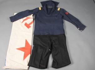 Laivastouniformu ja lippu