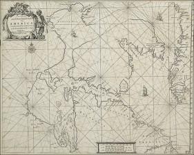 Pohjois-Amerikan rannikon merikortti