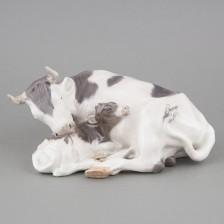 Lehmä ja vasikka
