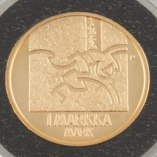 Kultaraha, Suomi, 1 markka 2001