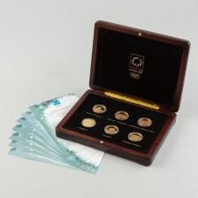 Kultarahoja 6 kpl, Kreikka 100 € 2004