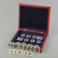 Erä hopearahoja, n. 30 kpl