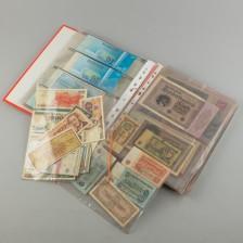 Erä seteleitä ja tulitikkuetiketejä