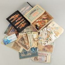 Erä seteleitä ym.