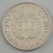 Juhlaraha, Suomi 500 mk 1951