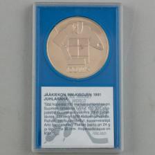 Juhlaraha, Suomi 100 mk 1991