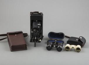 Teatterikiikarit, 2 kpl ja kamera