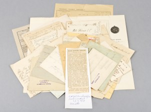 Luovutuskirja ja erä kirjeenvaihtoa