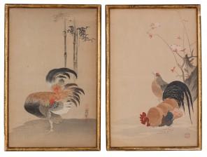 Japanilaisia puupiirroksia, pari