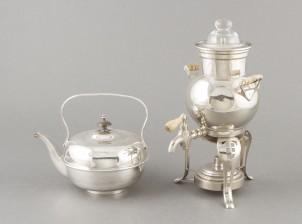 Samovaari ja teekannu