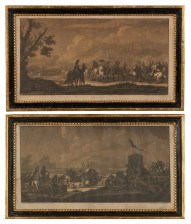 Georg Philipp Rugendas (1666-1742), 2 kpl