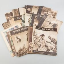 Erä aikakausilehtiä, 41 kpl