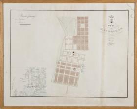 Plan af Jacobstad