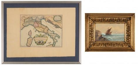 Maalaus ja kartta