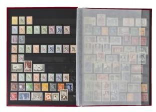 Erä postimerkkejä, n. 155 kpl