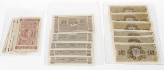Suomalaisia seteleitä