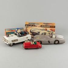Leikkiautoja, 3 kpl