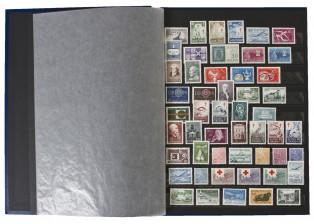 Erä postimerkkejä, n. 300 kpl