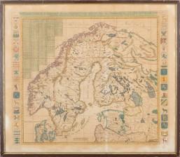 Kartta, 1700-luvun alku