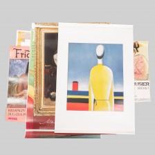 Näyttely- ym. julisteita, 14 kpl