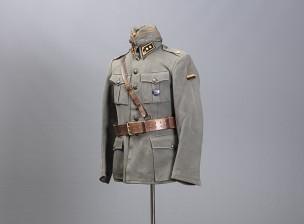 Asetakki m/36, suikka m/39 ja upseerivyö