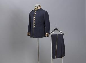 Västmanlands rykmentin univormu m/1886