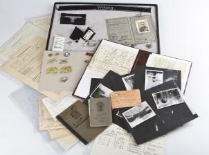 Erä tunnuksia, dokumentteja ja valokuvia