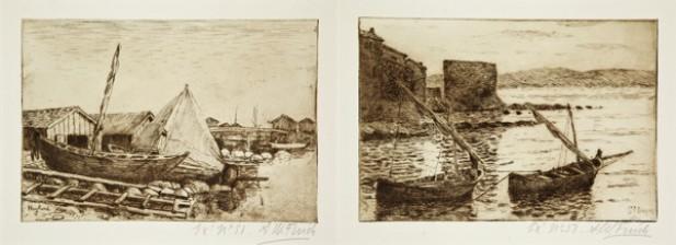 Finch, Alfred William (1854-1930), 2 kpl/st/pcs