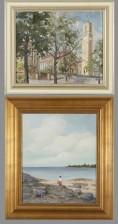 Veikko Rautiainen ja maalaus