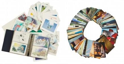 Raimo Huittinen kokoelma ja erä postikortteja (Kaj Stenvall)