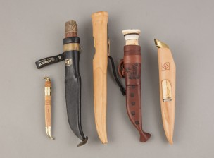 Puukkoja ja veitsiä, 5 kpl