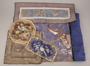 Tekstiilejä, 5 kpl