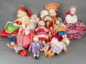 Erä nukkeja