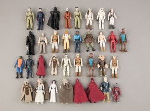 Star Wars figuriineja, 34 kpl