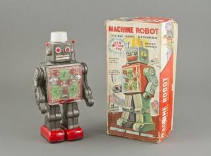 Machine robot