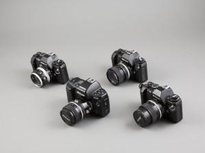 Kameroita, 4 kpl