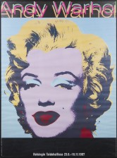 Näyttelyjuliste, Andy Warhol