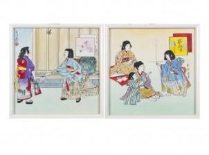 Japanilaisia kuvia, 2 kpl