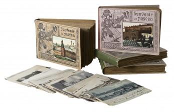 Erä postikortteja ja albumeja