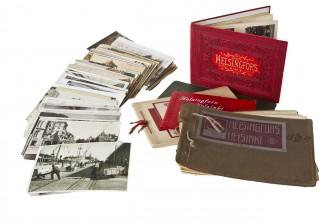 Erä postikortteja ja kuvia