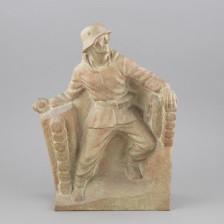Taisteleva sotilas-patsas