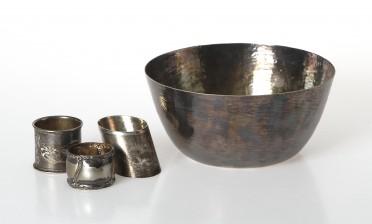 Wirkkala, Tapio ja lautasliinarenkaita, 3 kpl