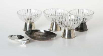 Wirkkala, Tapio, 2 kpl ja kynttilänjalkoja 4 kpl