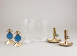 Alvar Aalto ja kynttilänjalkoja, 2 paria